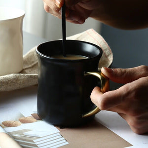 Creative Retro Coffee Cup