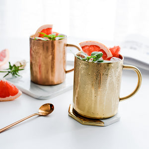 Luxury stainless steel mug