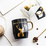 Christmas Elk Coffee Cup