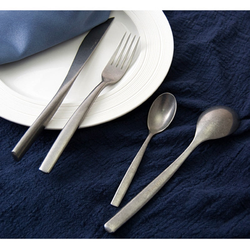 Japanese Retro Silverware