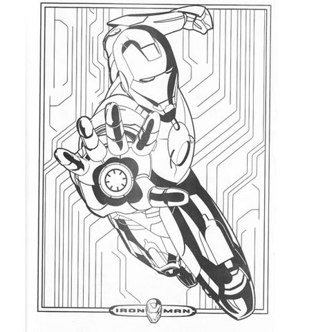 Free Iron Man Coloring Page To Print Simply Superheroes