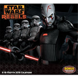 2015 Star Wars Rebels Wall Calendar