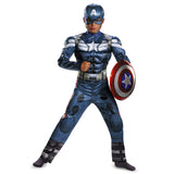 Captain America Winter Soldier Classic Muscle Child Costume