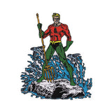 Aquaman Embroidered Iron-On Patch