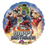 Avengers Birthday Party Balloon