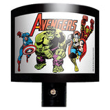 Avengers Comic Book Night Light