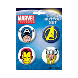 Avengers Button Set