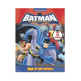 Batman Brave And The Bold Team Up for Trouble Sticker Book