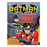 Batman Activity Book with Stickers