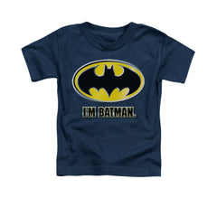 I'm Batman Toddler T-Shirt