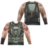Bane Dark Knight Rises Movie Mens Long Sleeve Costume T-Shirt