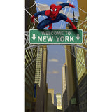 Spiderman Door Banner