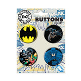 Batman Dark Knight Button Set