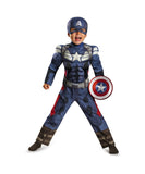 Captain America Winter Soldier Classic Muscle Toddler Costume