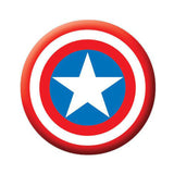 Captain America Shield Large Button