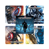 Captain America Winter Soldier Movie Stickers