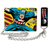 Captain America Chain Wallet