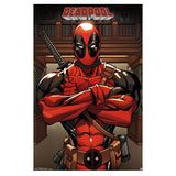 Deadpool Arms Crossed Wall Poster