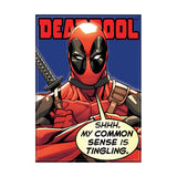 Deadpool Common Sense Magnet