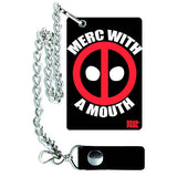 Deadpool Merc With A Mouth Chain Wallet