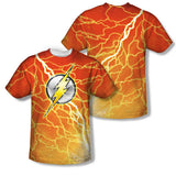 The Flash Lightning Logo Sublimation Mens T-Shirt
