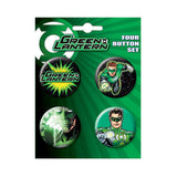 Green Lantern Button Set