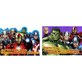 Avengers Assemble Invitations And Thank You Postcards