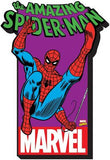Spiderman With Logo Chunky Magnet