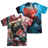 Aquaman Vs Manta Sublimation Mens T-Shirt