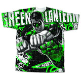 Green Lantern All Over Print Mens T-Shirt