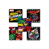 Marvel Heroes Square Stickers