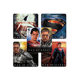 Superman Man Of Steel Movie Stickers Set