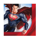 Superman Man Of Steel Lunch Napkins