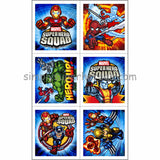 Super Hero Squad Party Favor Stickers