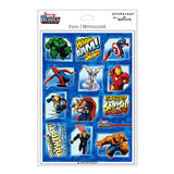 Marvel Heroes Foil Stickers