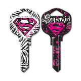 Supergirl Blank House Key