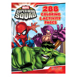 Super Hero Squad 288 Coloring & Activity Pages Book