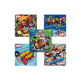 Super Hero Squad Square Stickers