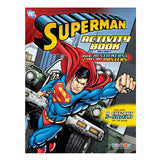 Superman Activity Book with Stickers & Posters