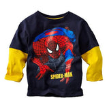 Spiderman Mock Layer Long Sleeve T-Shirt