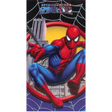 Spiderman Web Beach Towel