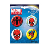Spiderman Button Set