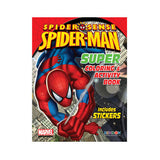 Spiderman 144 Page Coloring & Activity Book With 30 Stickers