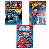 Batman Superman Justice League Storybook Set