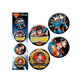 Superman Action Button Set