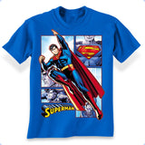 Superman Panels T-Shirt