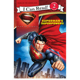 Man Of Steel: Superman's Superpowers I Can Read Book 2