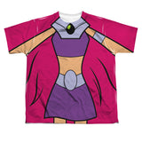 Starfire Teen Titans Go! Sublimated Youth Costume T-Shirt