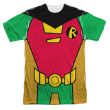 Robin Costume Teen Titans Go! Sublimated Mens T-Shirt