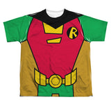 Robin Costume Teen Titans Go! Sublimated Youth T-Shirt
